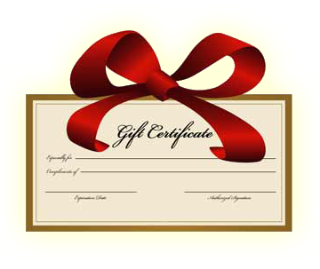 Bed and Breakfast Gift Certificates Available